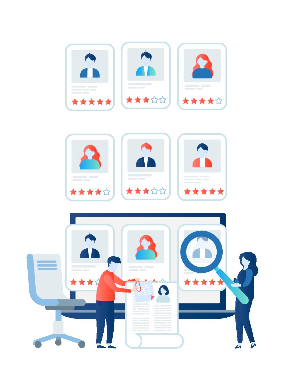 trier les contacts pour faciliter le suivi commercial