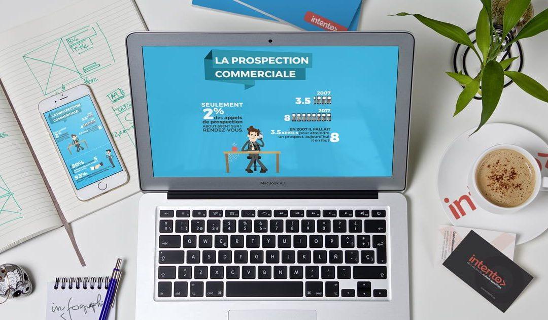 Infographie : La prospection commerciale