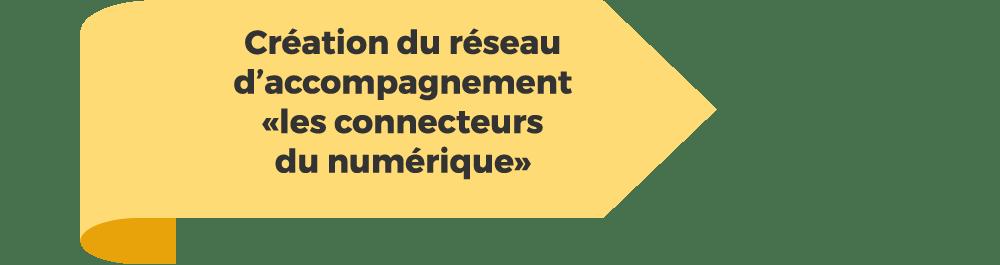 """Création du réseau d'accompagnement """"les connecteurs du numérique"""""""