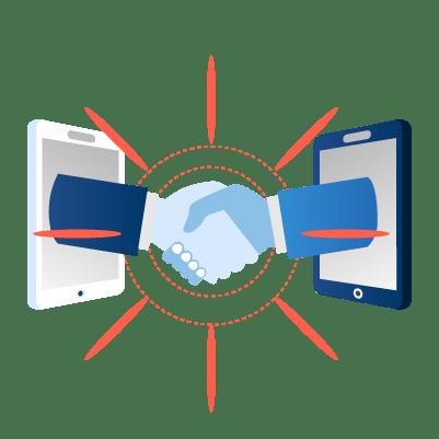 2. Rencontrez d'éventuels partenaires d'affaires.