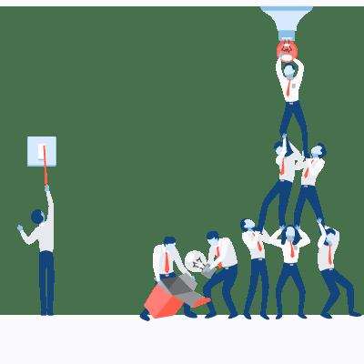 un cycle de vente qui nécessite une collaboration entre les experts marketing et les commerciaux