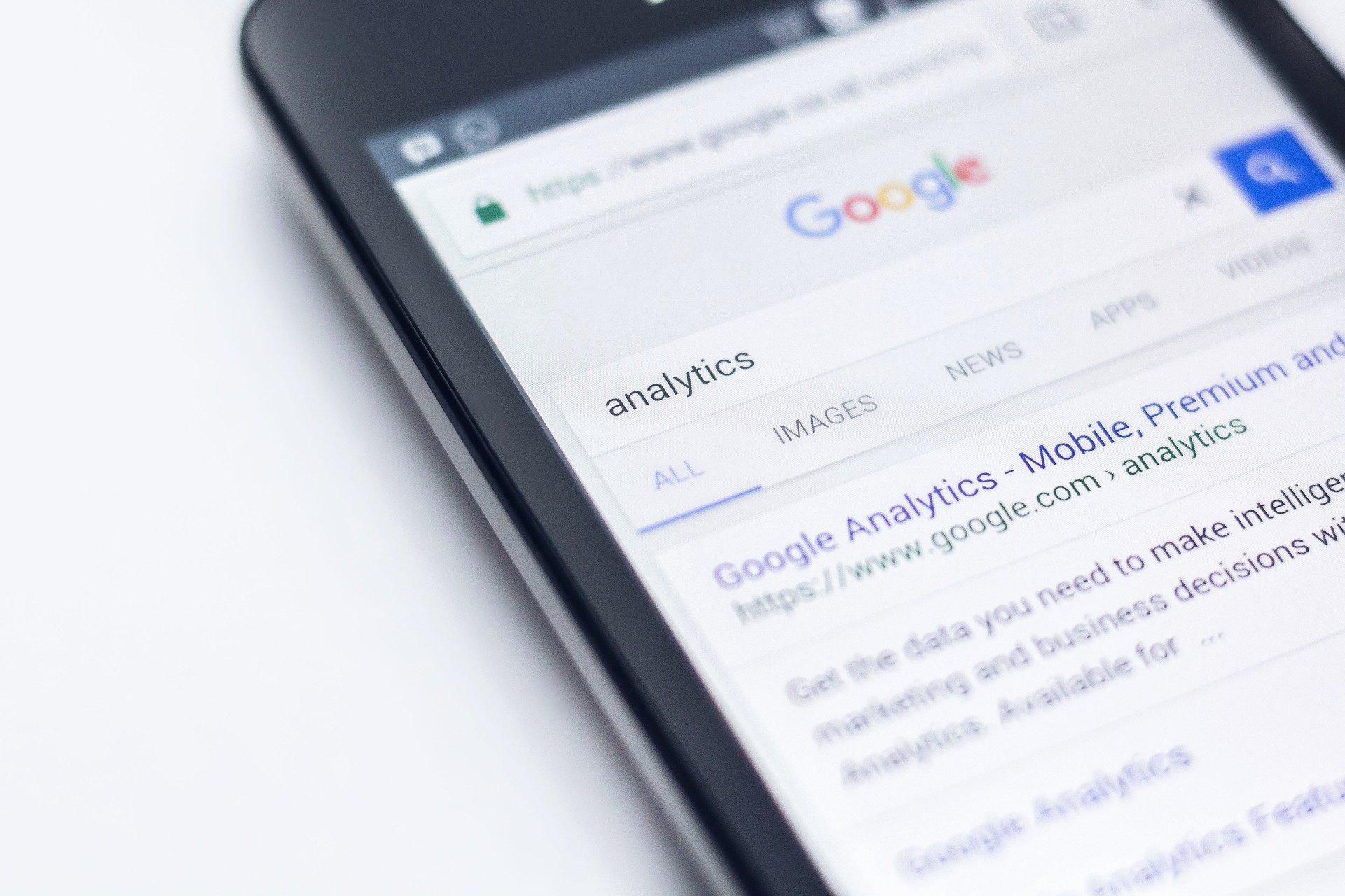 recherche internet sur mobile