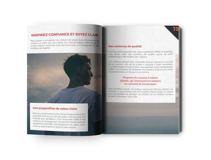 double page ebook transformez votre site internet