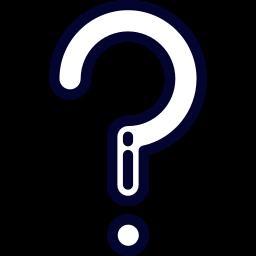 pictogramme point d'interrogation