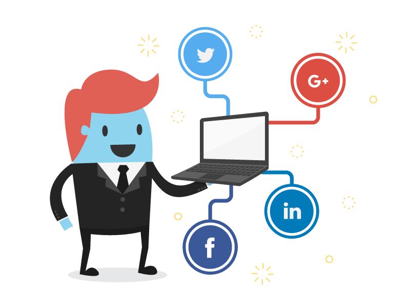 du contenu pour les réseaux sociaux