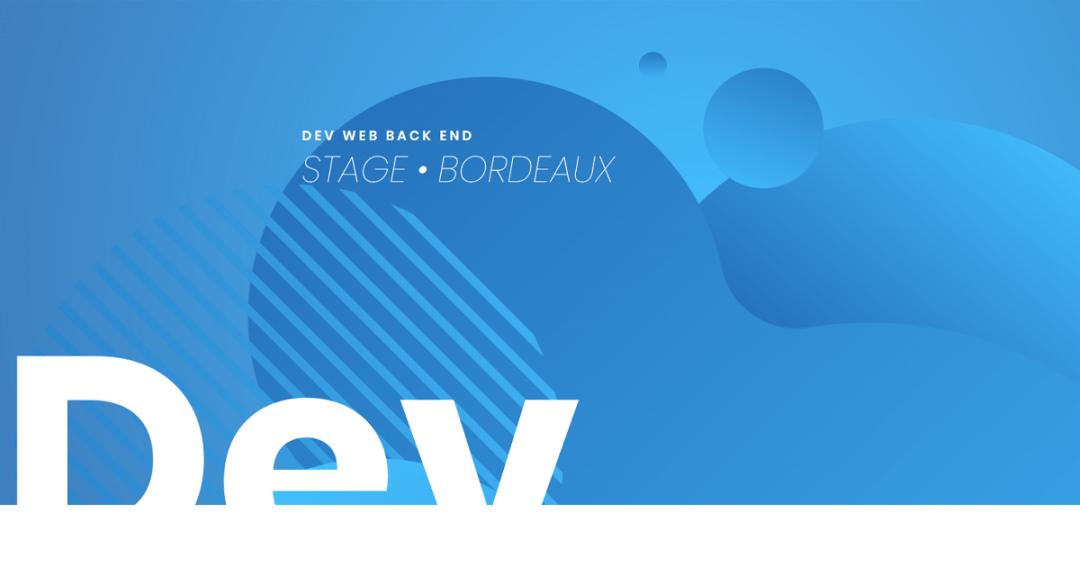 [Stage] Dev web Back-end